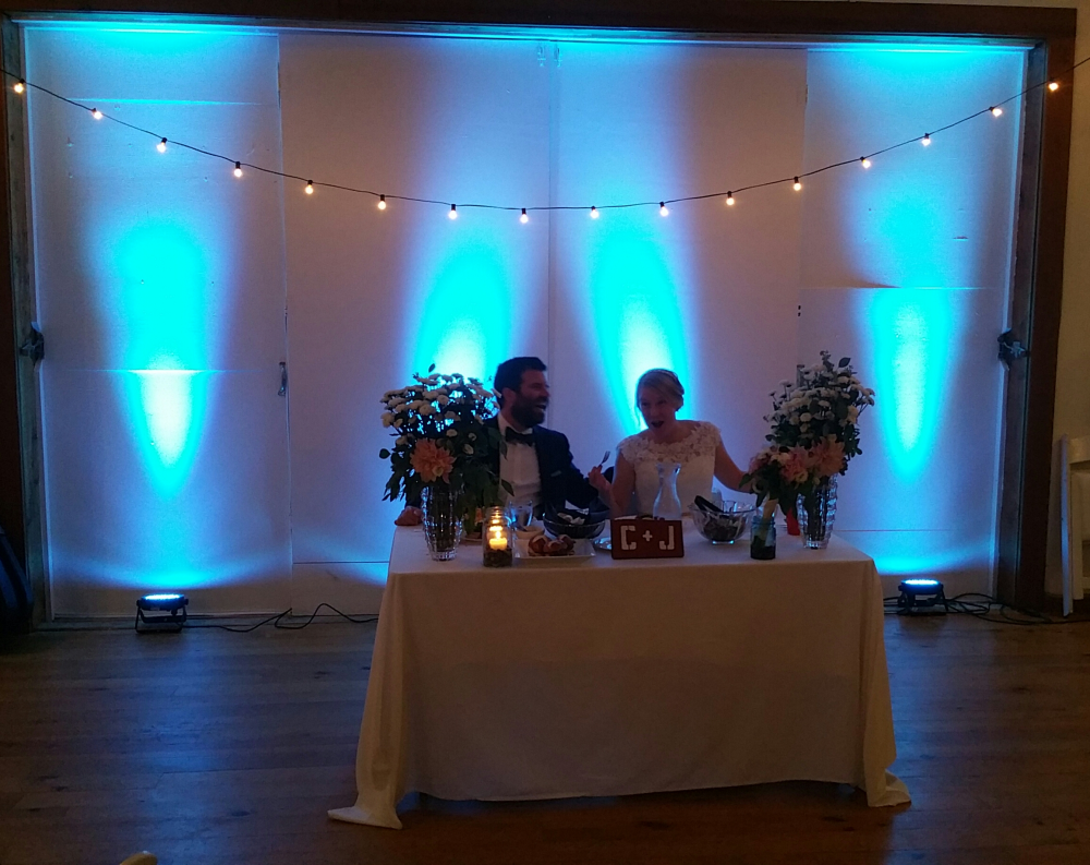 The Milwaukee Wedding DJ Uplighting