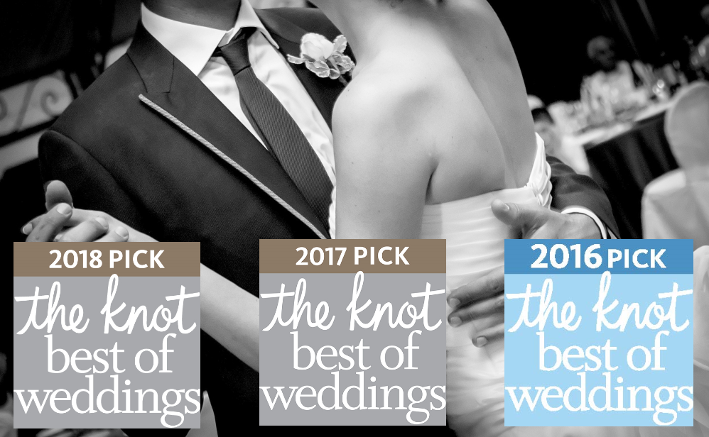 2016 and 2017 the knot pick best of weddings the milwaukee wedding dj